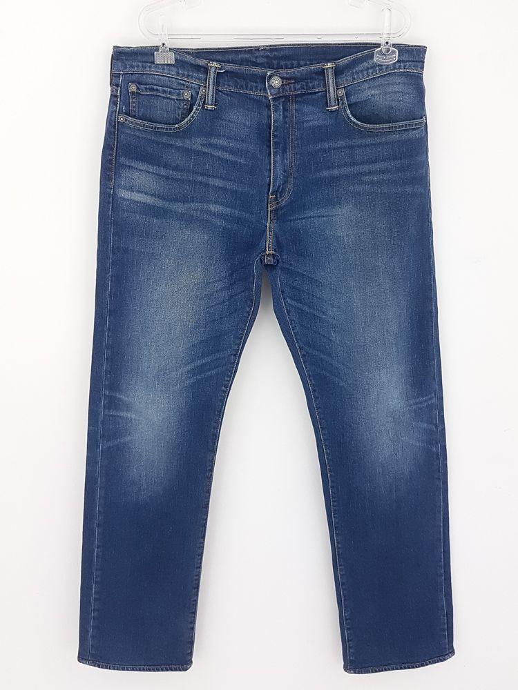 Calça jeans azul estonada Levi's tam 44