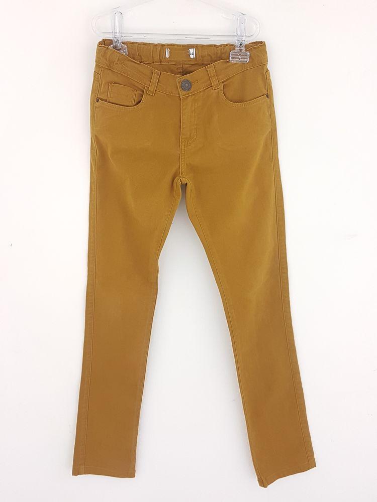 Calça jeans skinny mostarda tam 12