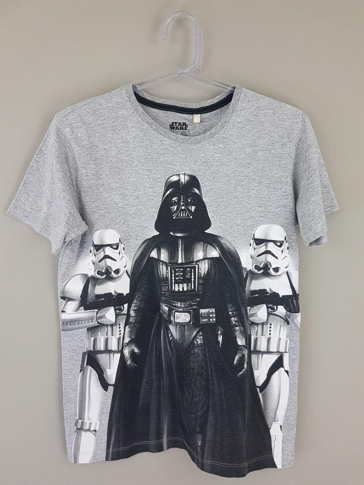 Camiseta cinza robôs Star Wars tam 14