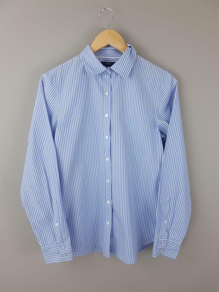 Camisa azul detalhe botões Zara tam M