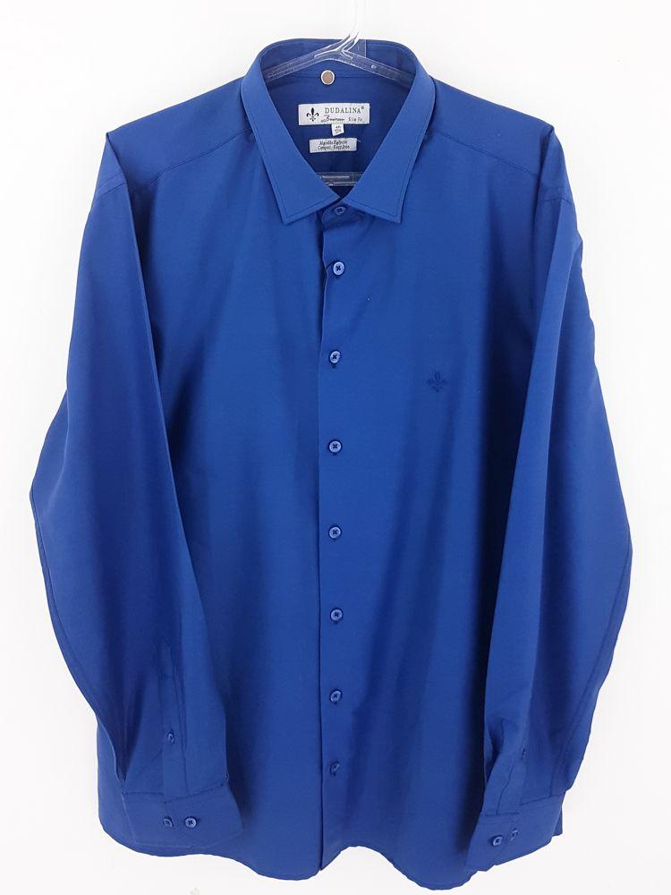 Camisa azul escuro Dudalina tam 44
