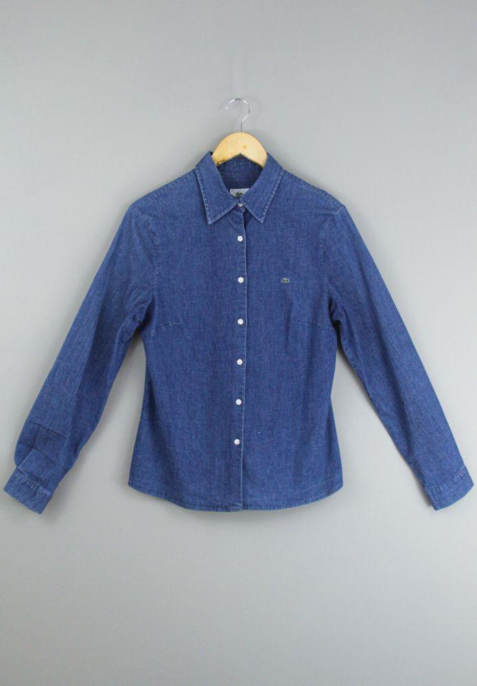 Camisa jeans Lacoste tam 44