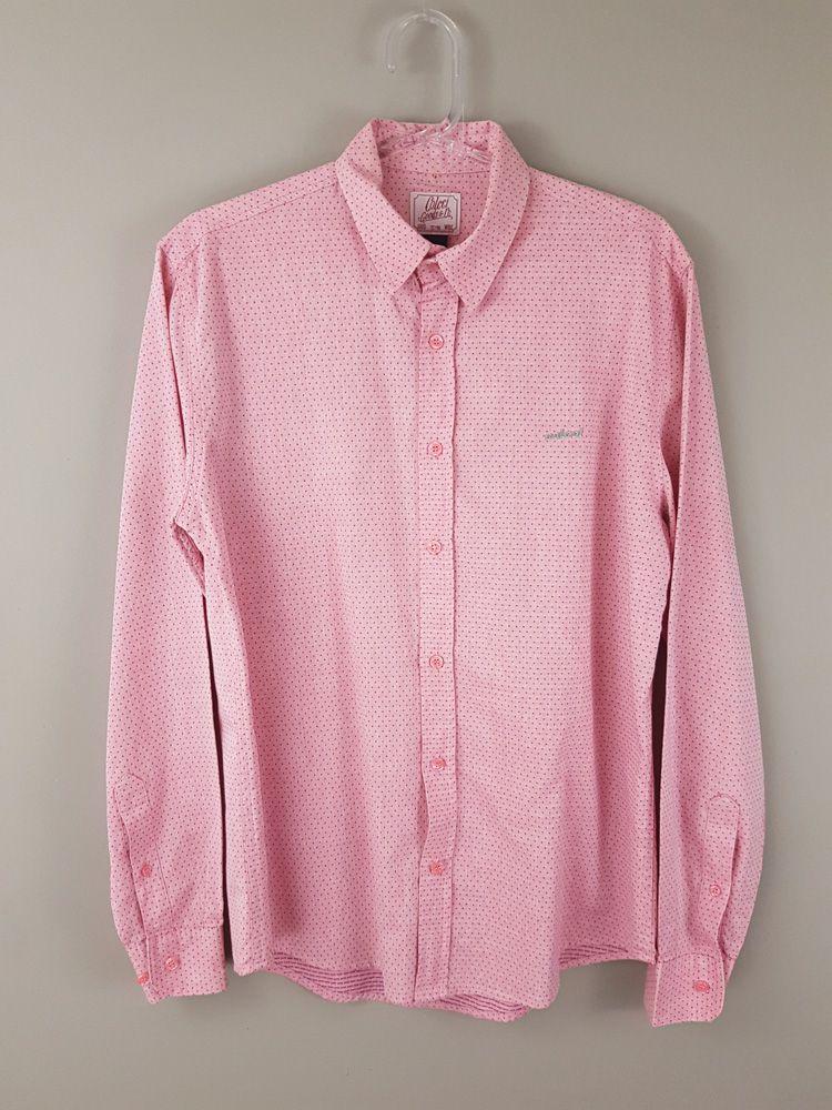 Camisa mescla pontinhos rosa escuro Colcci tam P