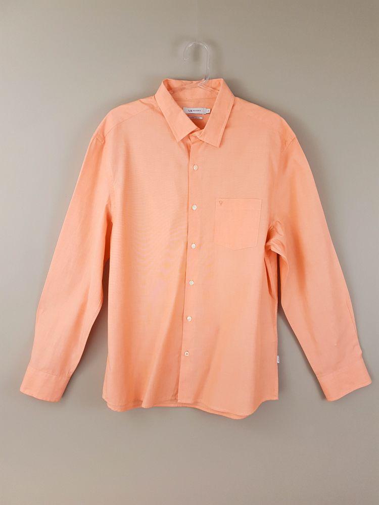 Camisa laranja claro Vr Resort tam G