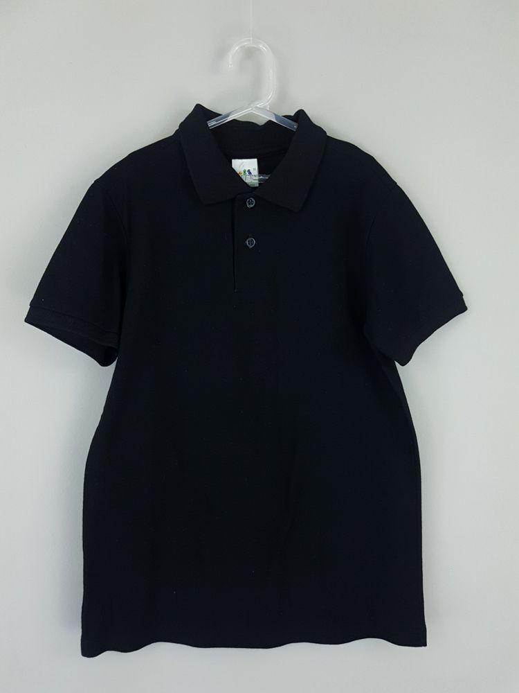 Camisa polo preta Malwee tam 10