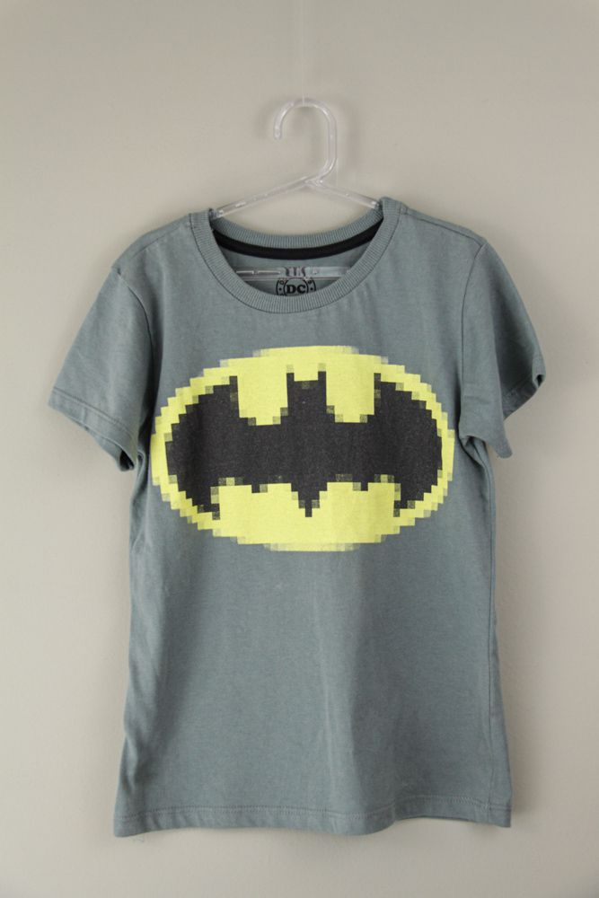 Camiseta cinza batman dc comics Tyrol tam 8
