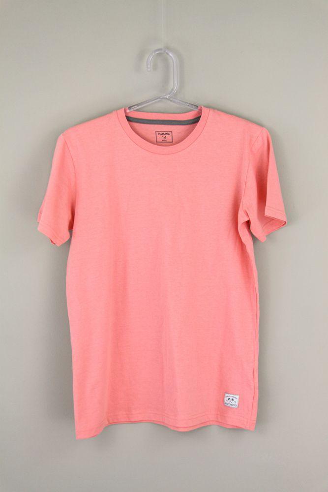 Camiseta malha rosa Fuzarka tam 14