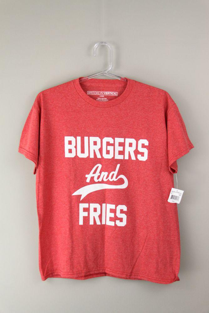Camiseta vermelha letras brancas Broklin Vertical tam 8