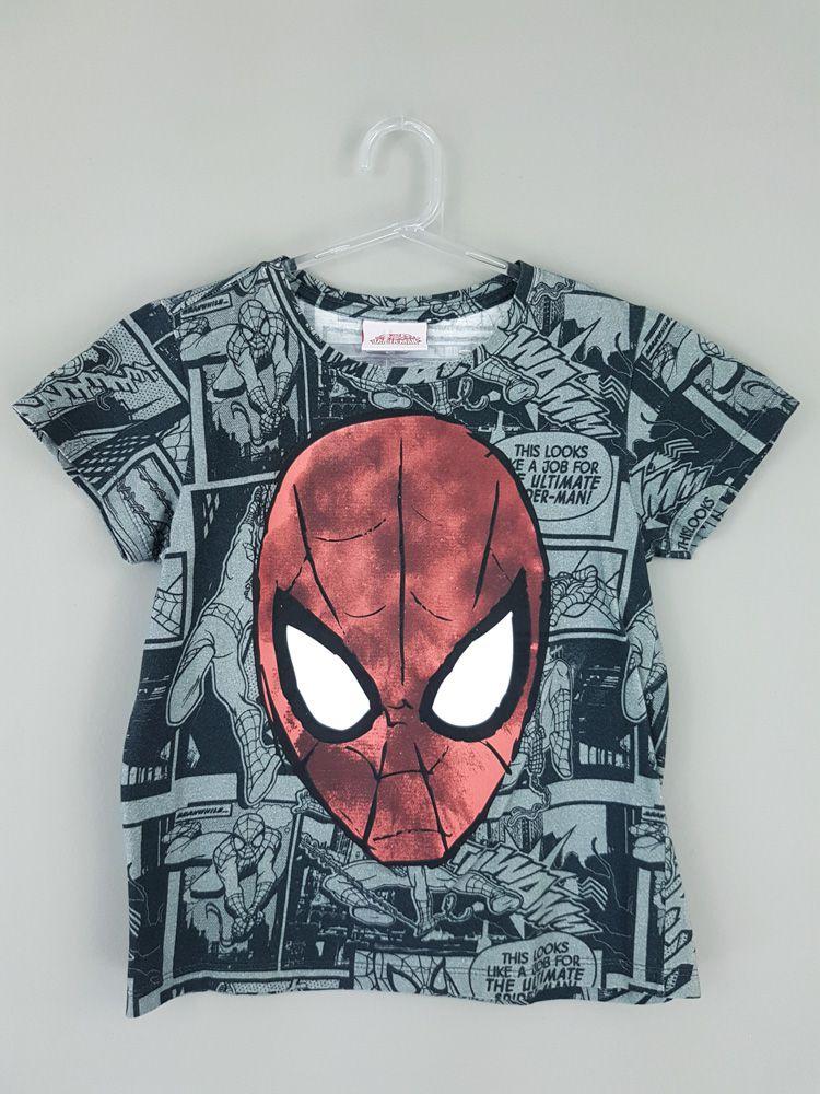 Camiseta Spider Man Marvel tam 4/5