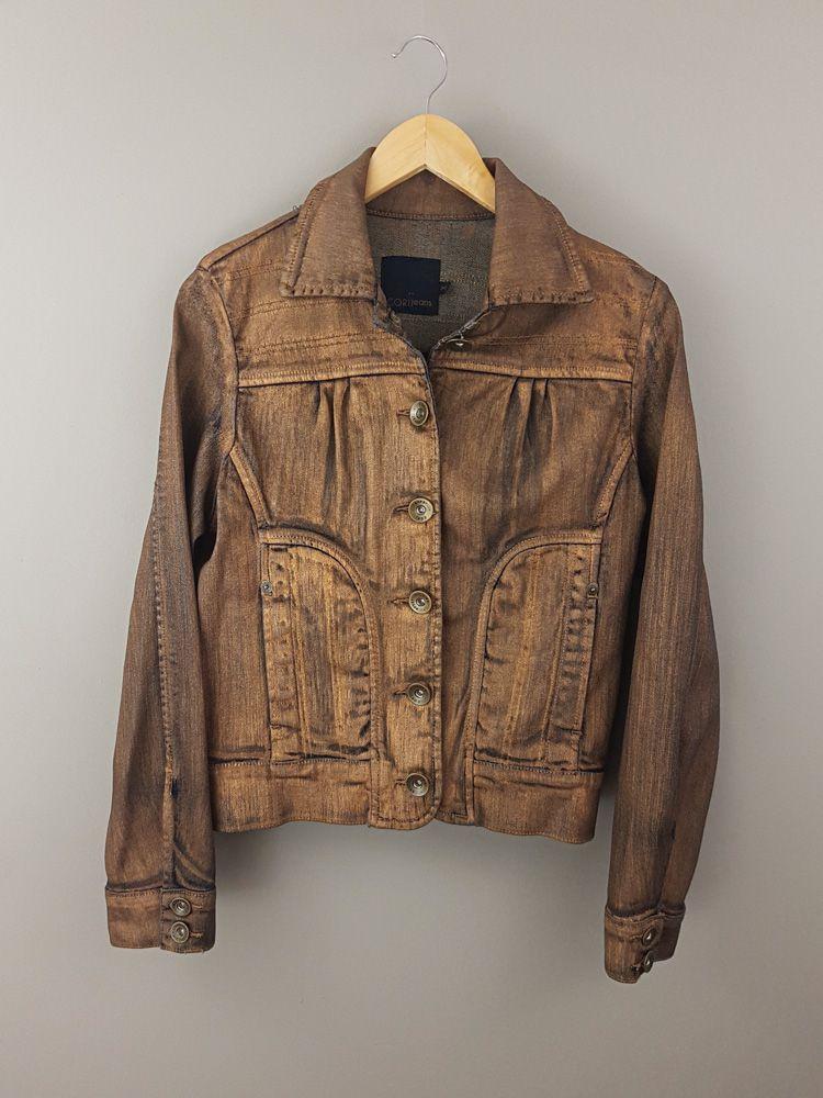 Jaqueta jeans cobre Cori Tam 42