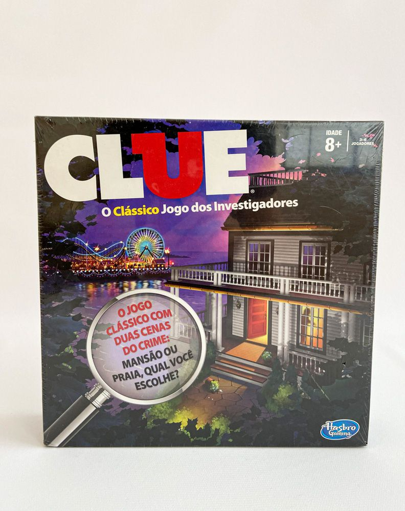 Jogo Clue - o clássico jogo dos investigadores