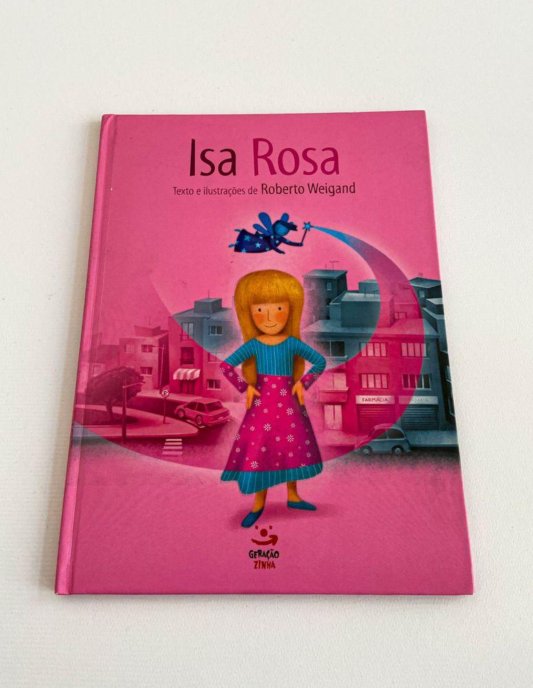 Livro infantil Isa Rosa