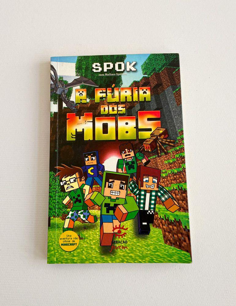 Livro Many Craft: A Fúria Dos Mobs