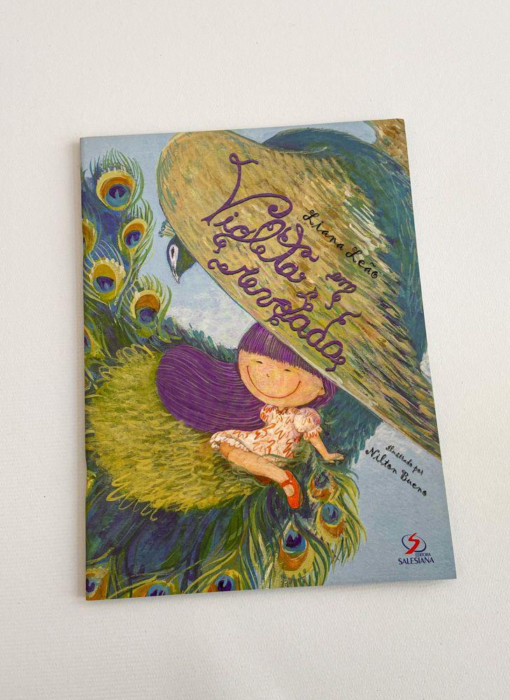 Livro Violeta Em Revoada