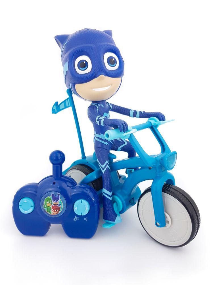 Bike Pj Masks com Controle Remoto - Menino Gato