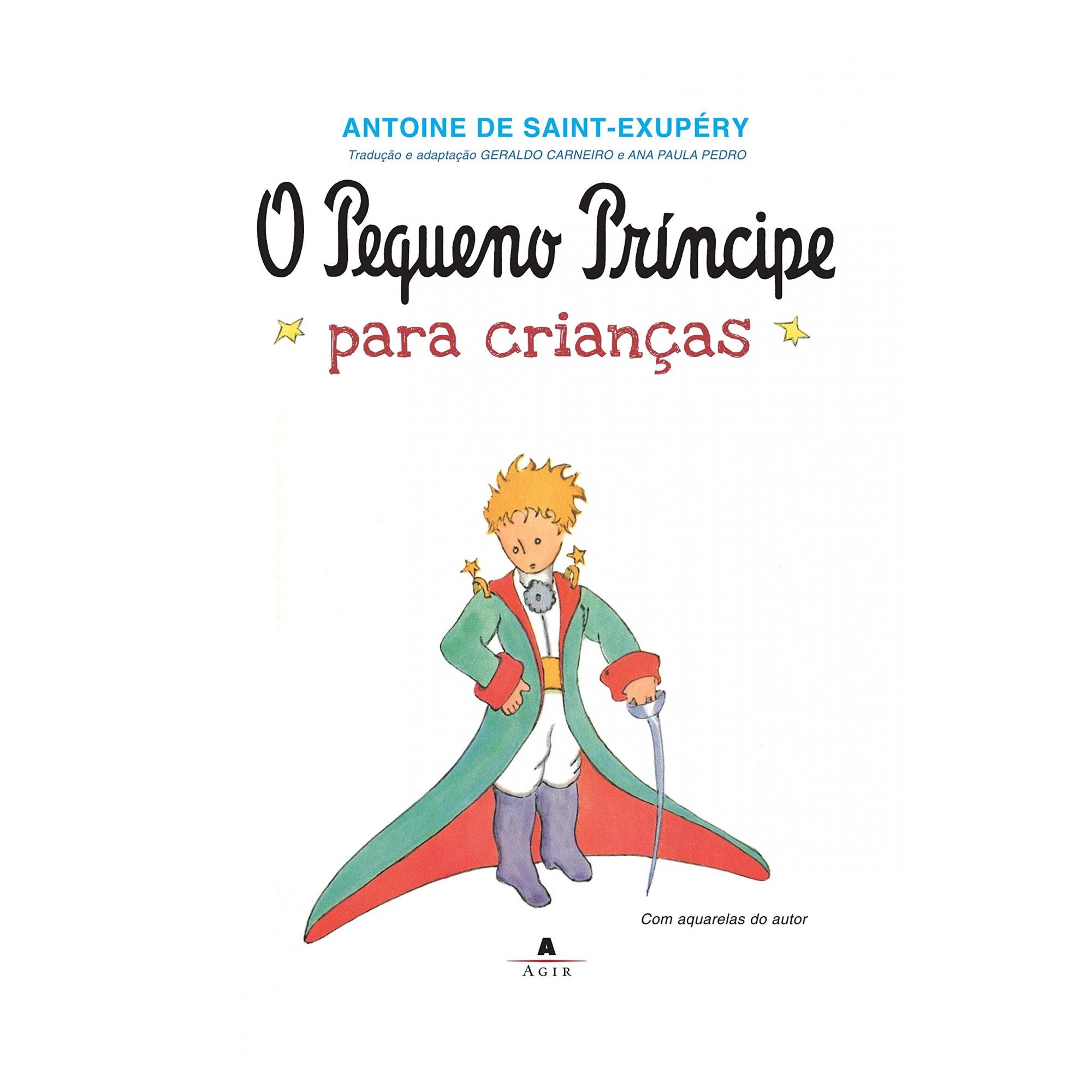 O PEQUENO PRÍNCIPE (PARA CRIANÇAS) - ANTOINE DE SAINT-EXUPÉRY - CAPA DURA