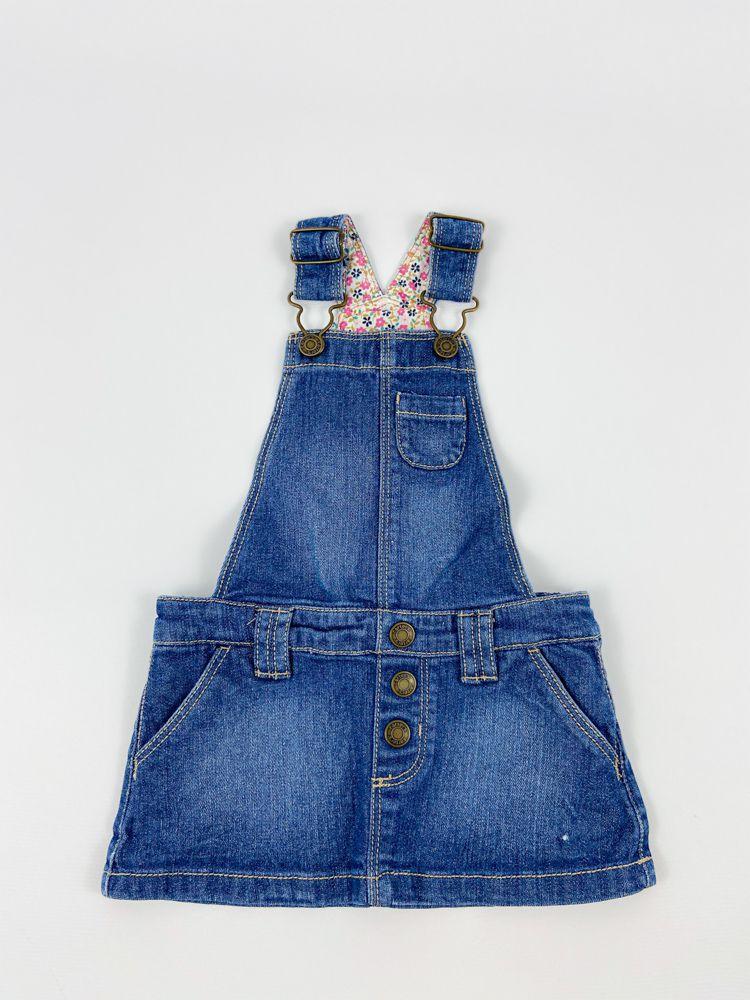 Salopete jeans Carters tam 12m