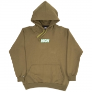 MOLETON HIGH LOGO COLORED OLIVE GREEN