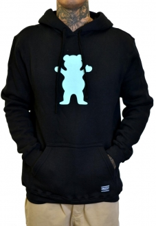 SWEATSHIRTS GRIZZLY OG BEAR PULLOVER HOODIE