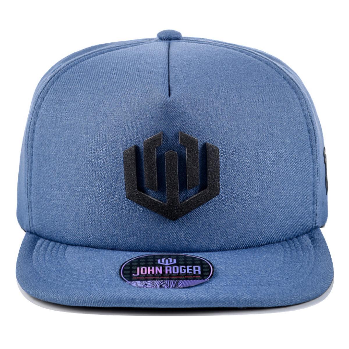 Boné John Roger - Azul/Logo