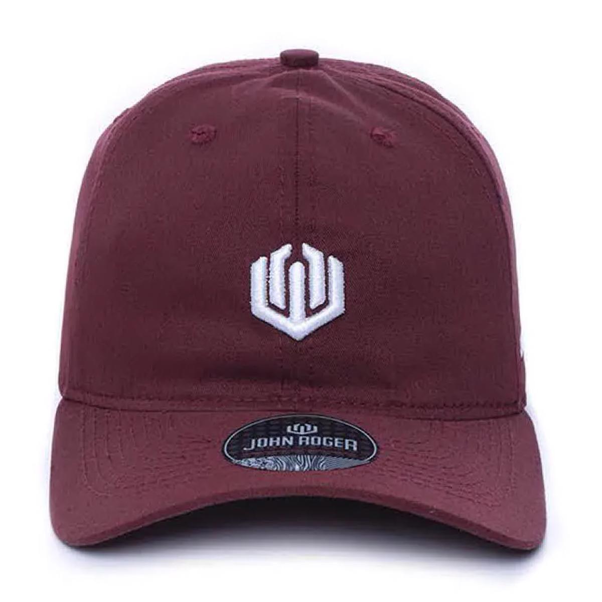 Boné John Roger - Vinho Dad hat