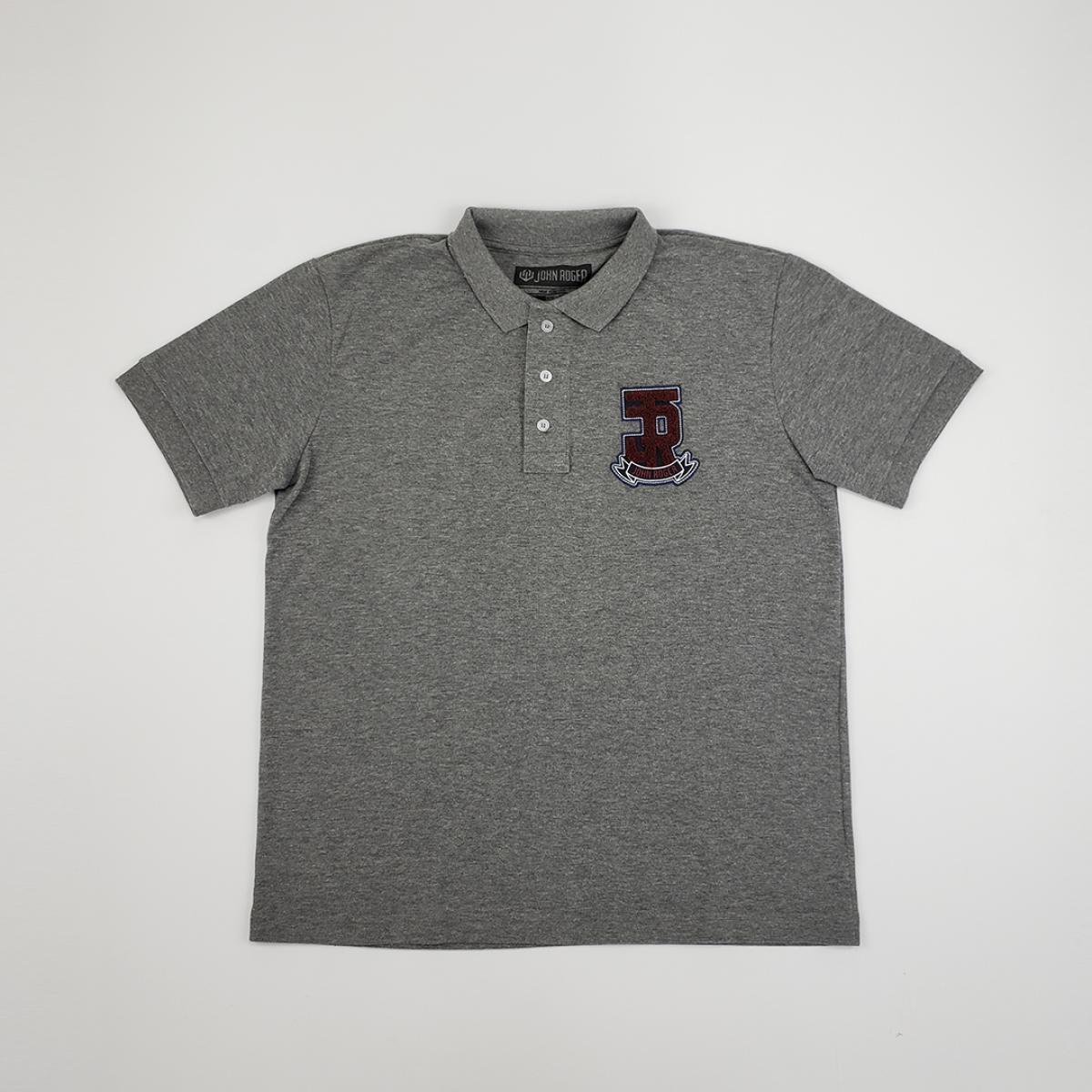 Camisa Polo John Roger Mescla Escuro