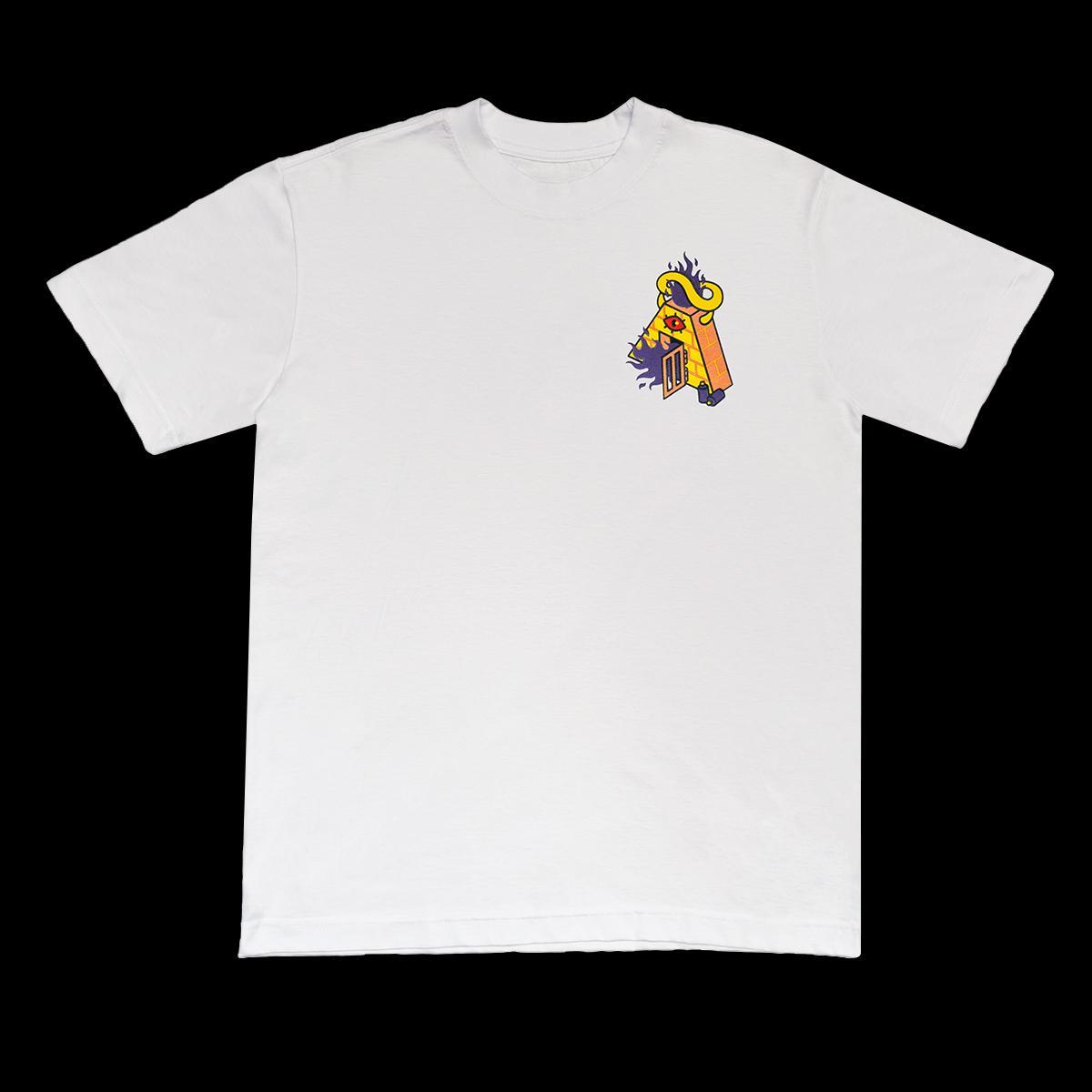 Camiseta a novos artistas -  devil branco