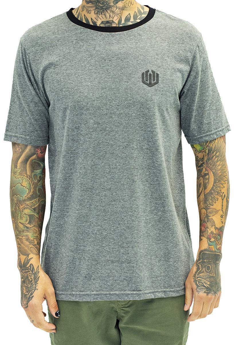 Camiseta basic john roger - mescla escuro