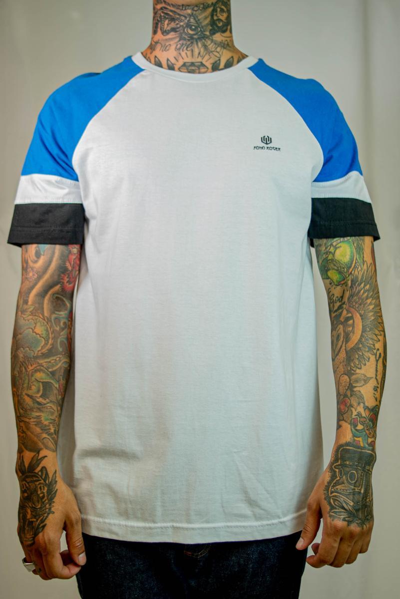Camiseta John Roger - Azul Japanese
