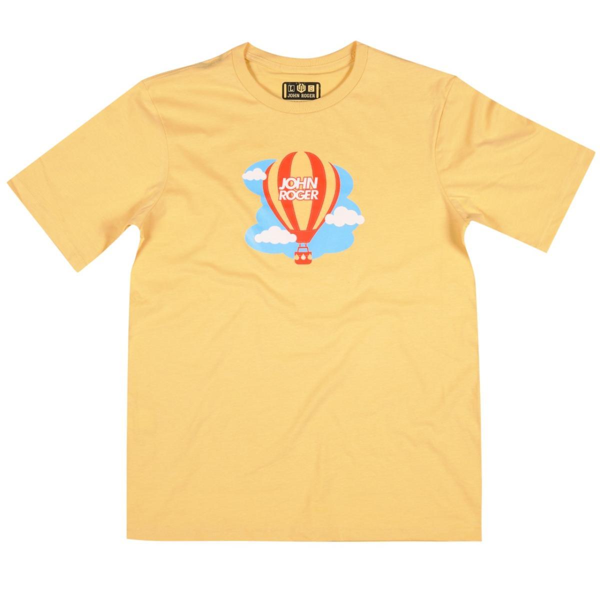 Camiseta John Roger - Balão - Amarelo
