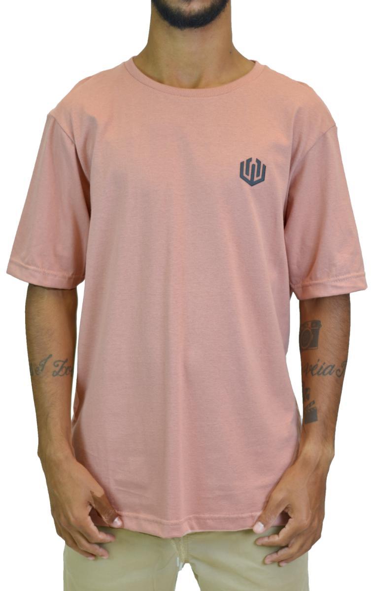 Camiseta John Roger Basic - rosa