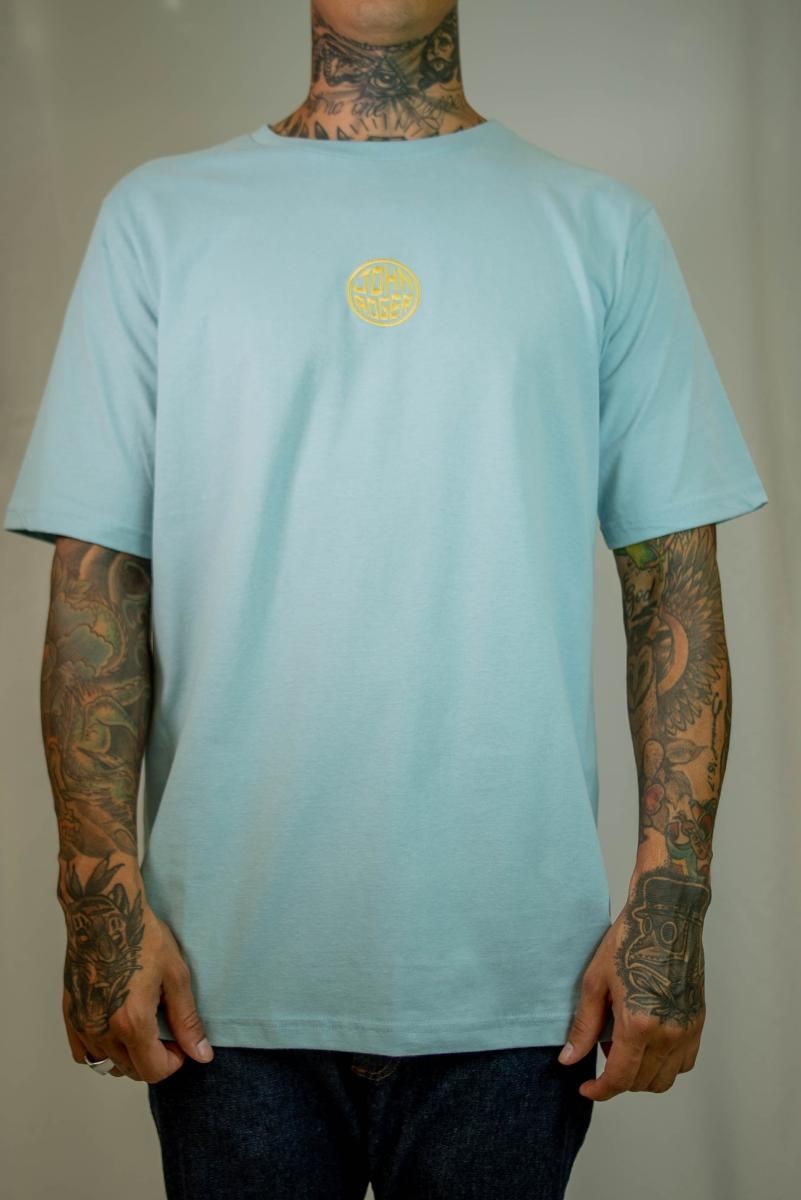 Camiseta John Roger - Circle blue