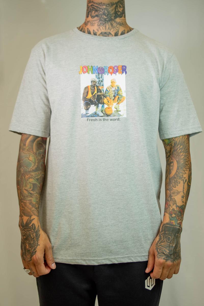 Camiseta John Roger - Fresh is the word