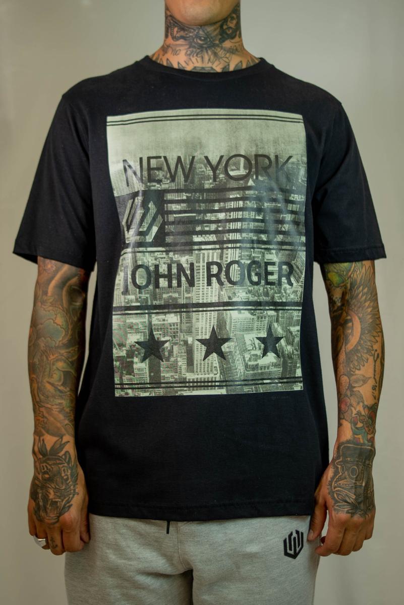 Camiseta John Roger - New York