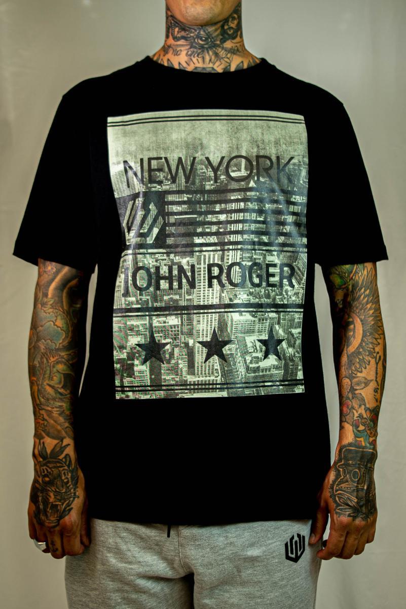 Camiseta John Roger - New York S.
