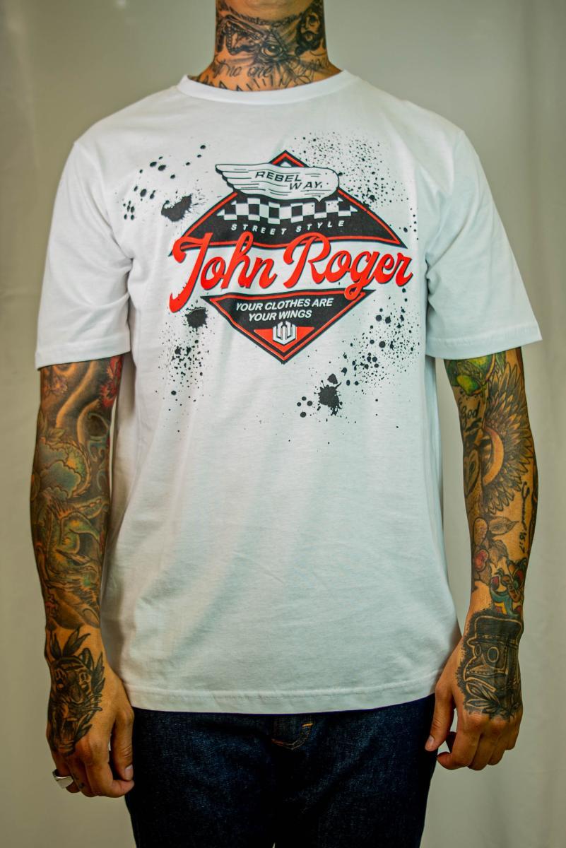 Camiseta John Roger - Rebel way