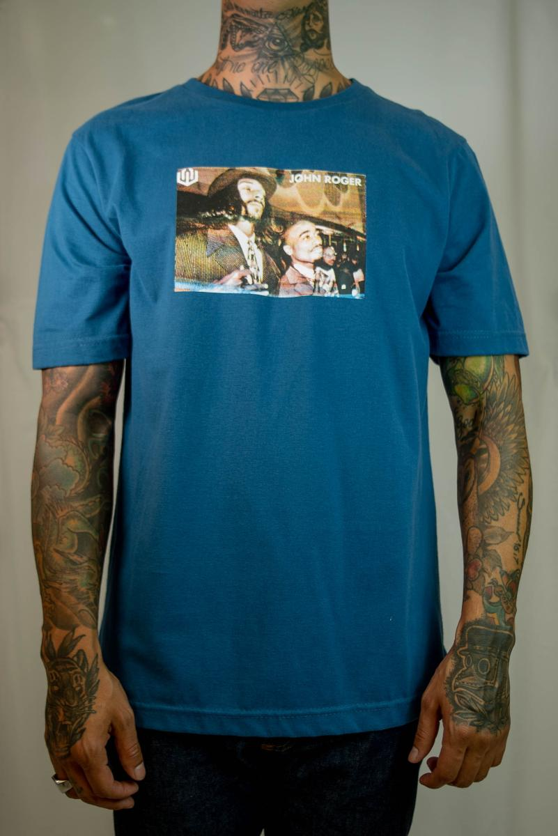 Camiseta John Roger - Snoop 2Pac