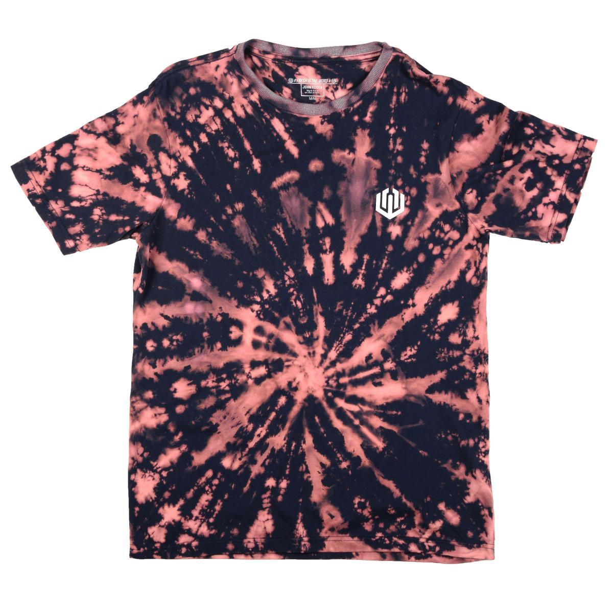 Camiseta John Roger - Tie Dye marinho