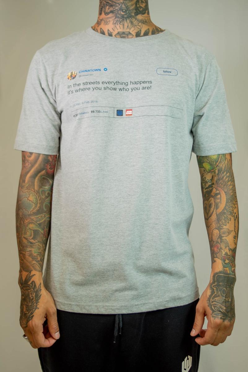 Camiseta John Roger - Tweet Chinatown
