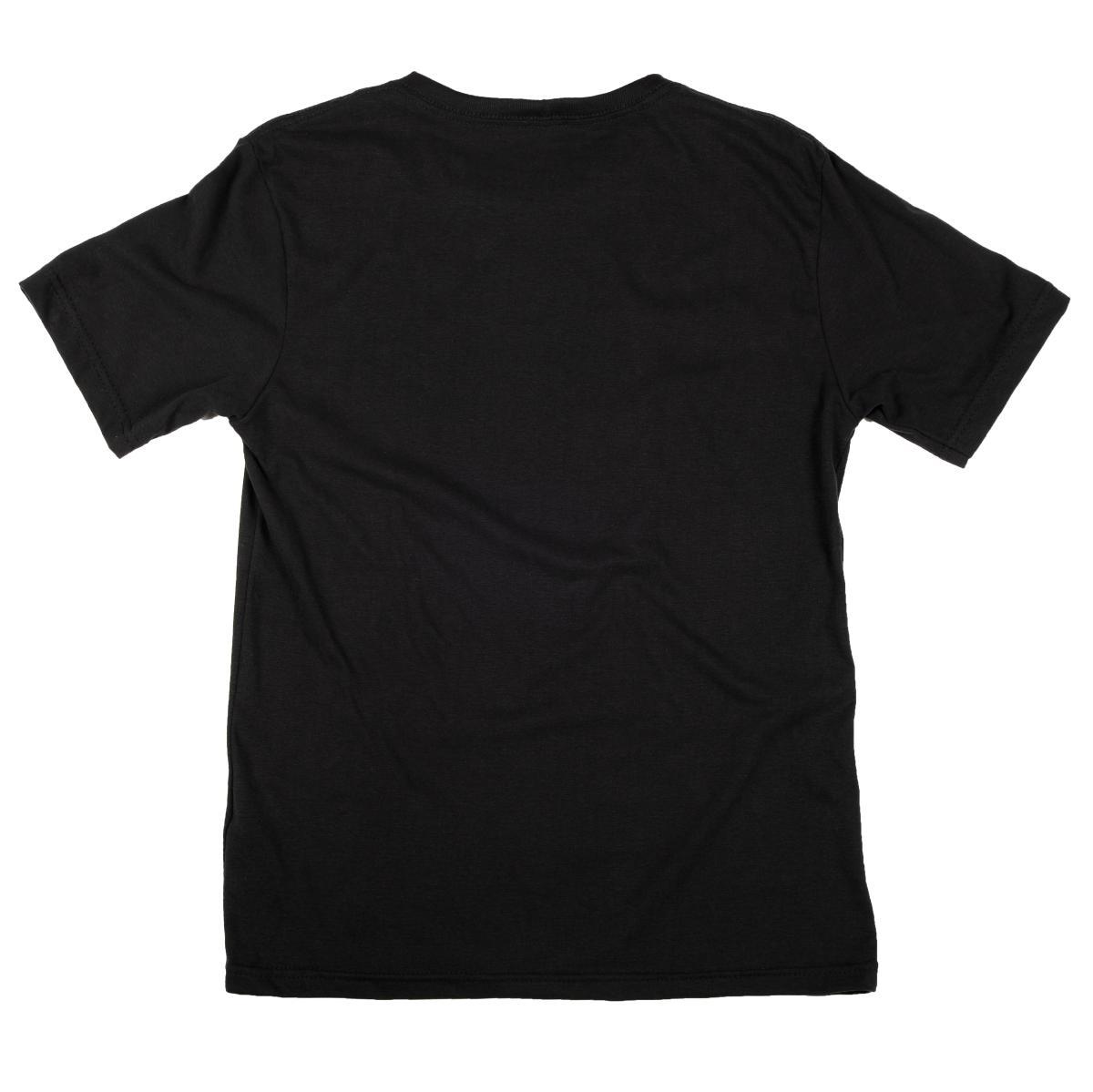 Camiseta John Roger Wood Logo - preto