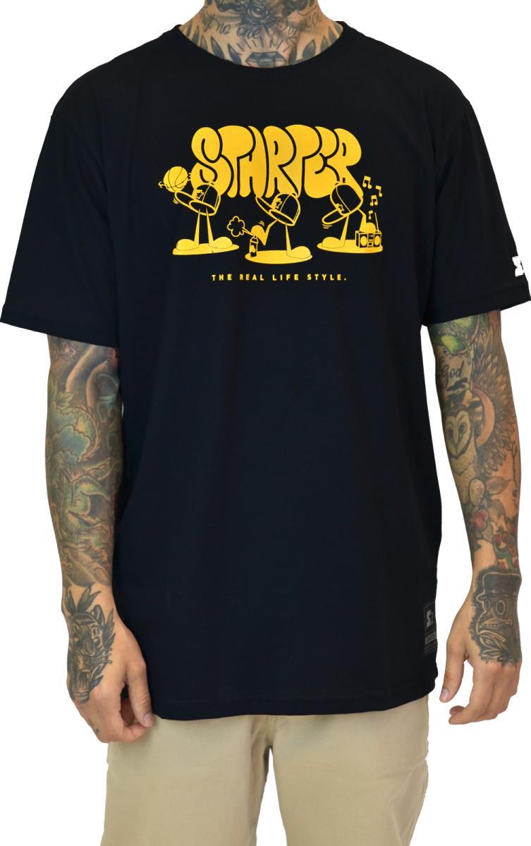camiseta masculina estampa starter