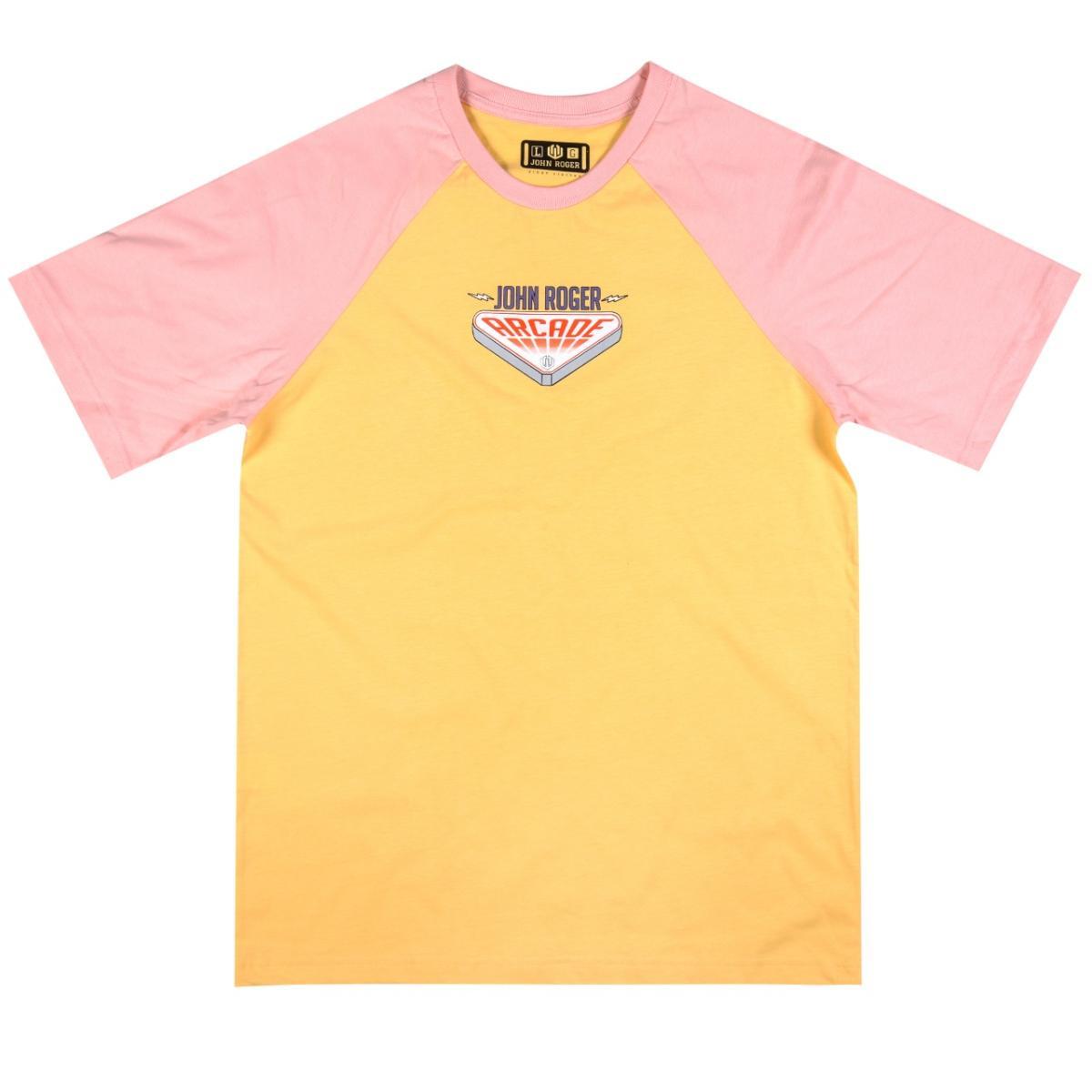 Camiseta Raglan John Roger - Arcade