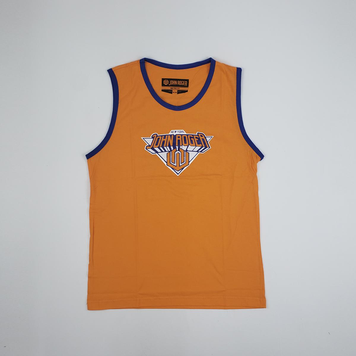 Camiseta Regata John Roger - Laranja
