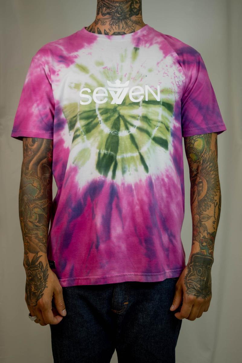 Camiseta Seven Brand - Tie Dye