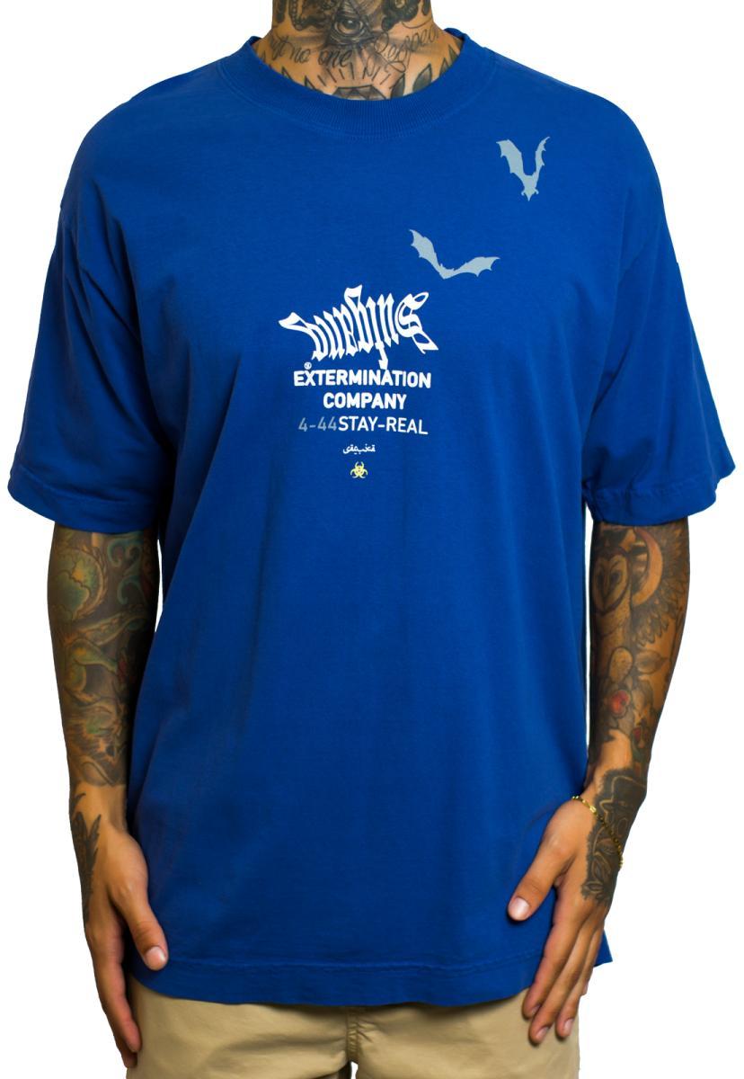 CAMISETA SUFGANG EXTERMINATION COMPANY BLUE
