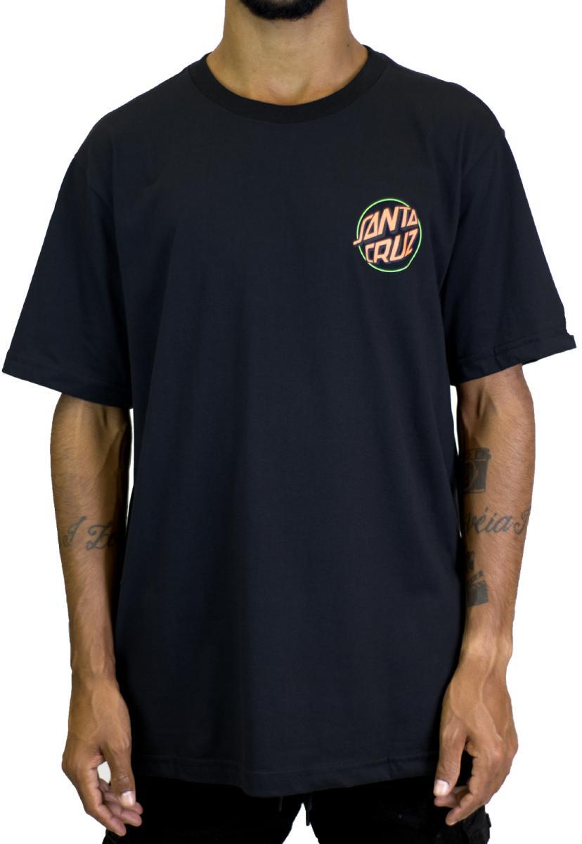Camiseta toxic hand preto