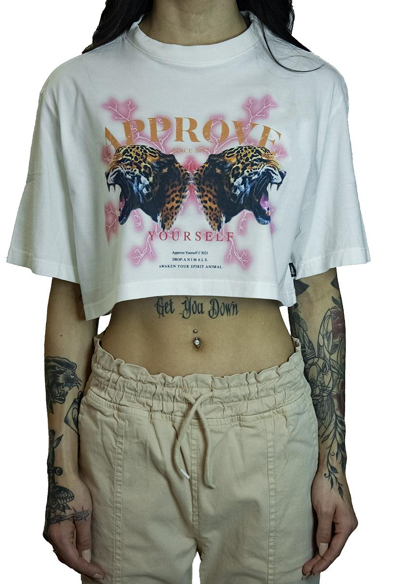 CROPPED APPROVE ANIMALS ONÇA OFF WHITE