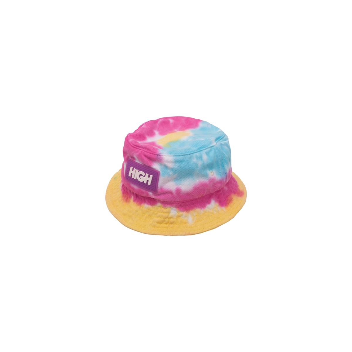 Dyed bucket hat sea blue