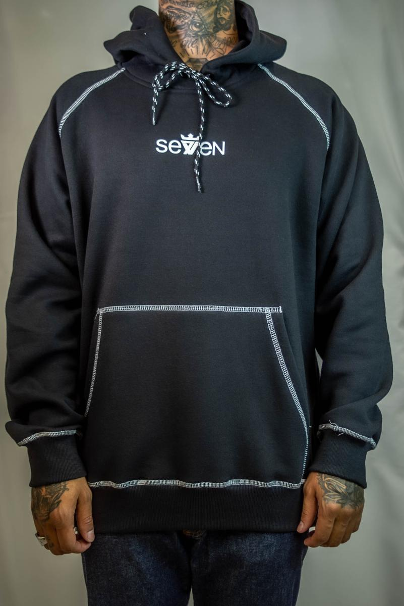 Moletom Seven Brand - Overlock Black