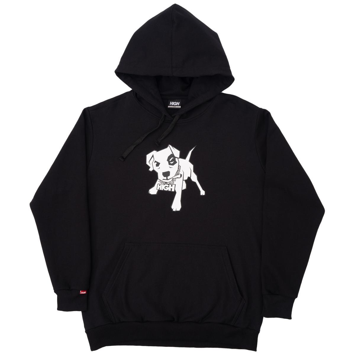 Mutt hoodie black high
